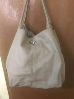 Authentic Rabeanco leather shoulder bag (REPRICED)