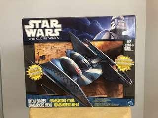 Star Wars Clone Wars Hyena Bomber