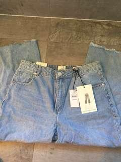 Blue Wide Leg Jeans 👖💎🦋
