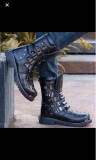 (INSTOCK) Leather Boots