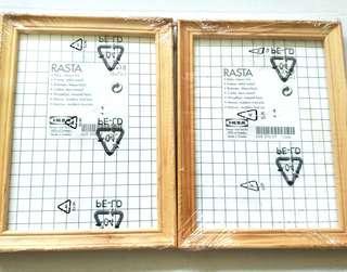 BNIW Ikea Rasta Photo Frames, 13x18cm