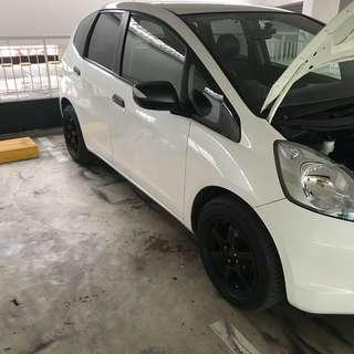 Honda Fit Plastidip Side Mirrors Plasti dip Spray Service