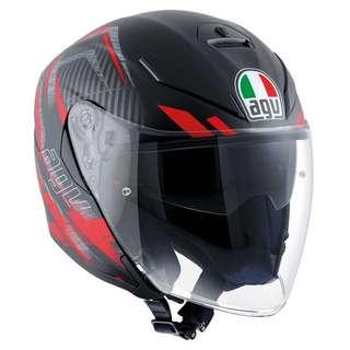 Agv K5 Jet Urban Hunter Red