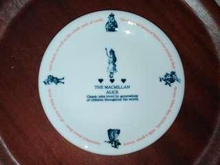 "The Macmillan Alice 1865 plate, 6.5"""