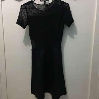 H&M Black Dress / hitam