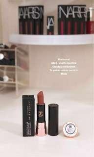 Preloved ABH matte lipstick shade cool brown