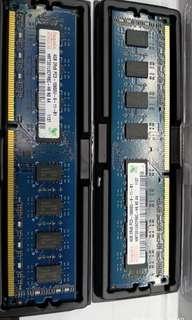 Dijual PC RAM DDR3 @4GB x 2 keping