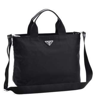 Prada Two Way Shoppers Bag