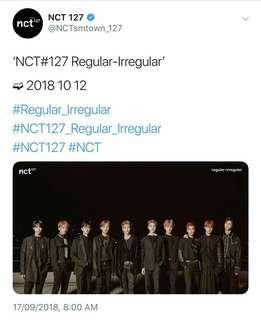 WTS NCT 127 First Album Regular Irregular