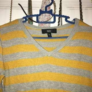 Yellow Mustard Knitwear Sweater #3x100