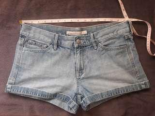 Old Navy low rise denim shorts