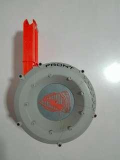USED Nerf 35-dart Drum Magazine Clip 35 Dart Gun Blaster Hasbro TRU