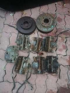 Original Nissan Sentra N16 Caliper Brake dan Disk Brake
