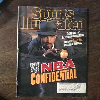 sports illustrated - grant hill cover