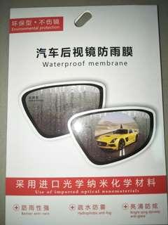 Waterproof Rearside view Mirror Cover Sticker (any vehicle)