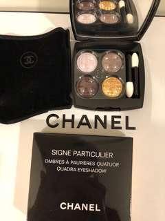 Chanel全新四色限量版眼影
