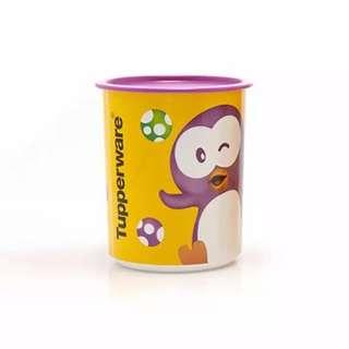 playful canister tupperware ecer