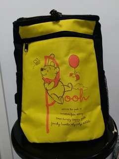Winnie the pooh 小熊維尼 背囊 背包 旅行袋