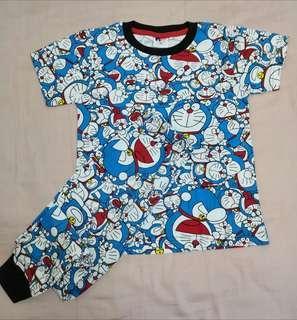 Pyjamas printed doraemon