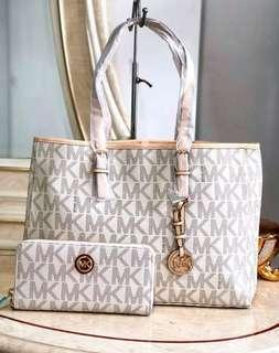 Michael Kors Tote Bag with MK Wallet *Authentic Quality