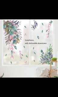 🎉New Arrival Creative leaf wall stickers waterproof stickers self-adhesive living room cabinet door corner bedroom dormitory bedside decorative painting warm