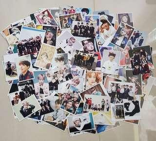 bts unofficial lomos and pc grab bag!!