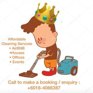 Cleaning Svc fr AirBNB/ Houses / Offices / Events [Local Team]