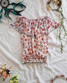 Off shoulder floral dress ❤