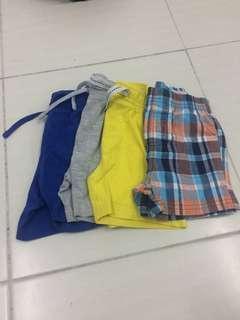 Three short pants