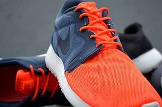 Nike Roshe Run HYP QS 3M Orange/Navy