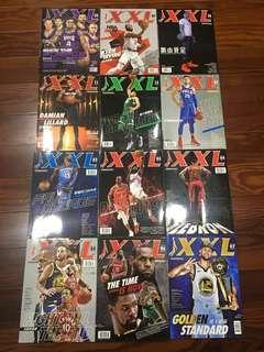 NBA XXL雜誌 2017/8~2018/9 單賣50 14本500