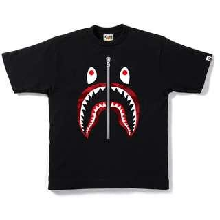 Bape Camo Shark Top