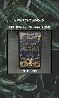 Fantastic Beasts and Where to Find Them by JK Rowling [Harry Potter Series]