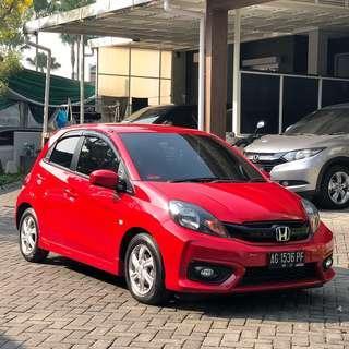 Honda Brio E Manual Merah 2016