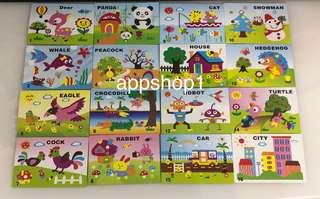 Children birthday party goodies gift- 3D DIY Form art and craft
