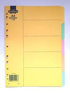 COLES A4 Tab Dividers