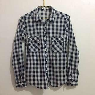 Blue Square Shirt by Colorbox