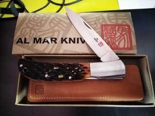 Al-Mar Hawk with Genuine Stag Handle