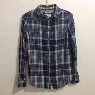 American Eagle Blue Shirt