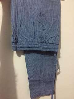 BERRYBENKA Blue Pants