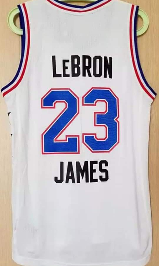 beb1e63074a3 Adidas 2015 NBA All Star Game LBJ 美版Swingman Jersey