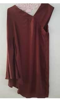 Asymetrical tunic