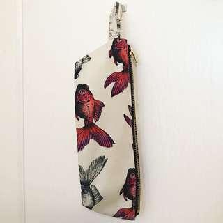 荷蘭設計師Cristjen人手上色金魚袋🎨Pencil Case/Cosmestics Bag 💼