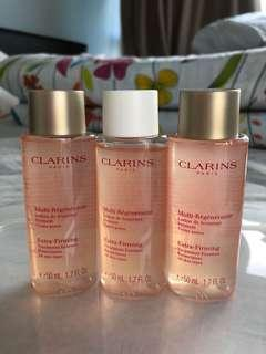 Brand new BN clarins extra firming essence not lotion day night cream