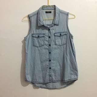 Tirajeans Sleeveless Shirt