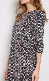 Dorothy Perkins Animal Print Shift Dress