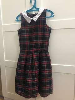Girls' Plaid Dress