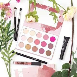 [SPREE] Karity Rosé All Day Eyeshadow Palette Rose All Day AUTHENTIC