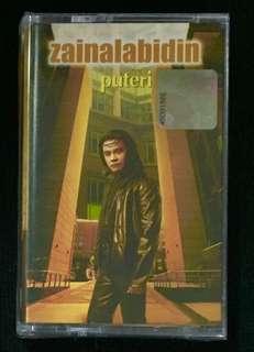 ZAINAL ABIDIN - Puteri 2004 Warner Music Cassette
