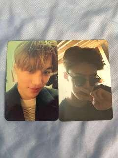 [WTS] EXO Sehun and Kai (Jongin) 'EXODUS' Photocards